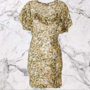 NWT ISABEL MARANT Face floral print dress